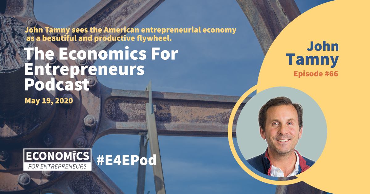 E4E Podcast Cover for Episode #65 Featuring David Bienstock of Target Enterprises